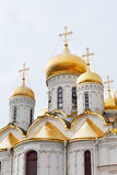 Annunciation Cathedral in the Moscow Kremlin Stock Photography