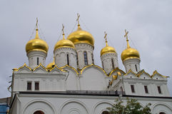 Annunciation Cathedral in the Moscow Kremlin. Royalty Free Stock Images