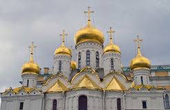 Annunciation Cathedral in the Moscow Kremlin. Royalty Free Stock Photo