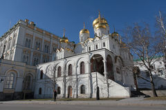 Annunciation Cathedral, Moscow Kremlin Royalty Free Stock Photo