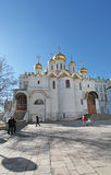 Annunciation Cathedral, Moscow Kremlin Royalty Free Stock Photos