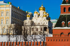 Annunciation Cathedral Of Moscow Kremlin Stock Image