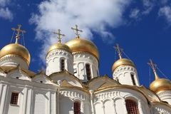 Annunciation Cathedral in Moscow Kremlin, Russia. Annuciation Cathedral inside Moscow Kremlin, Russia stock photo