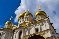 The Annunciation Cathedral, Moscow Kremlin, Russia stock photo