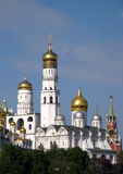 Annunciation Cathedral in Moscow, Russia Stock Images