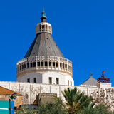 Annunciation Cathedral in Nazareth Royalty Free Stock Photo