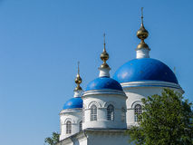 Annunciation Cathedral in the Russian town of Meshchovsk Kaluga region. Royalty Free Stock Photography