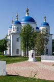 Annunciation Cathedral in the Russian town of Meshchovsk Kaluga region. Royalty Free Stock Images