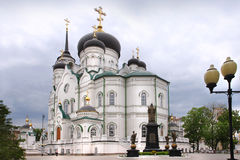 Annunciation Cathedral, Voronezh city, Russia Royalty Free Stock Photography