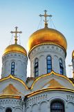 Annunciation church of Moscow Kremlin. Color photo. Stock Photo