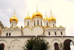 Annunciation church. Moscow Kremlin. UNESCO Heritage. Stock Photo