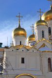 Annunciation church in Moscow Kremlin. UNESCO World Heritage Sit Royalty Free Stock Photography