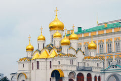 Annunciation church. Moscow Kremlin. UNESCO World Heritage Site. Royalty Free Stock Images