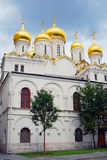 Annunciation church. Moscow Kremlin. UNESCO World Heritage Site. View of the Annunciation church. Moscow Kremlin, a popular touristic landmark. UNESCO World Royalty Free Stock Photography