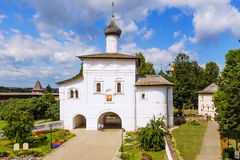 The Annunciation Gate Church in Suzdal, the Golden Ring of Russia.  royalty free stock images