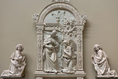 The Annunciation by Giovanni della Robbia Royalty Free Stock Photo