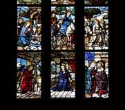 Annunciation i narodzenie jezusa Obraz Royalty Free