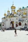Annunciation katedra Moskwa Kremlin Zdjęcie Stock