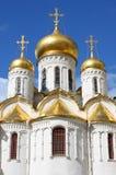 Annunciation katedra w Moskwa Kremlin Obrazy Royalty Free