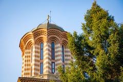 Annunciation kościół święty Anthony, przemyślany Bucharest ` s stary kościół, Rumunia zdjęcie royalty free