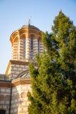 Annunciation kościół święty Anthony, przemyślany Bucharest ` s stary kościół, Rumunia fotografia royalty free
