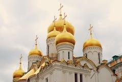 Annunciation kościół kreml Moscow UNESCO dziedzictwo Obraz Stock