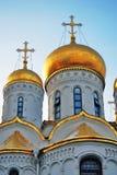 Annunciation kościół Moskwa Kremlin Kolor fotografia Zdjęcie Stock