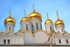 Annunciation kościół Moskwa Kremlin Kolor fotografia Obraz Stock