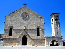 annunciation kyrkliga rhodes Arkivbild