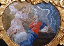 annunciation Mary Virgin Στοκ Εικόνες