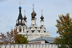 Annunciation monastery in Murom, Golden ring of Russia royalty free stock images