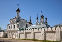 Annunciation Monastery in Murom, Russia Royalty Free Stock Image