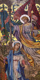 Annunciation mosaic Stock Photography