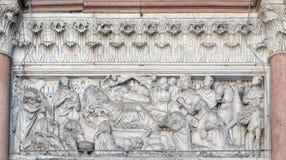 Annunciation, Nativity και λατρεία των μάγων Στοκ φωτογραφίες με δικαίωμα ελεύθερης χρήσης