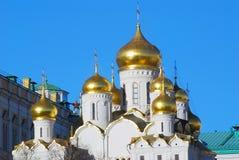 Annunciation ortodoksyjny kościół. Moskwa Kremlin zdjęcie royalty free