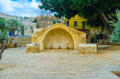 The annunciation place Royalty Free Stock Photos
