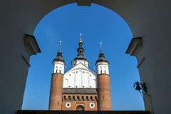 Annunciation in Suprasl. The Monastery of the Annunciation in Suprasl also known as the Suprasl Lavra, Poland Royalty Free Stock Images