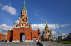Annunciation Tower in Yoshkar-Ola. Russia Stock Images