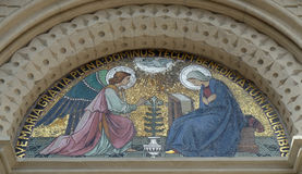 Annunciation of the Virgin Mary Royalty Free Stock Photography