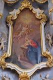 Annuncio del Virgin Mary Immagini Stock Libere da Diritti