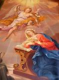 Annuncio del Virgin Mary Fotografia Stock