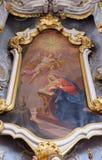 Annuncio del Virgin Mary Fotografia Stock Libera da Diritti