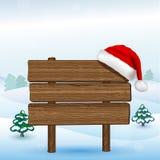Annuncio di Natale Fotografia Stock Libera da Diritti