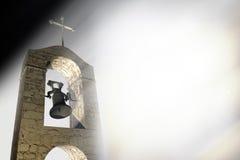Annuncio funereo cristiano Fotografie Stock