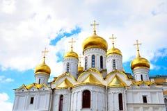 annunication大教堂克里姆林宫莫斯科 库存图片