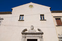 Annunziata Church. Cancellara. Basilicata. Italy. Royalty Free Stock Photos