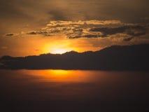 Annuvolamento The Sun immagini stock