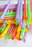 Anny color straw Stock Photo