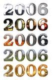 Ano 2006 ilustração stock