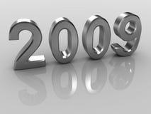 Ano 2009 imagem de stock